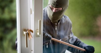 Insurance claims after burglary